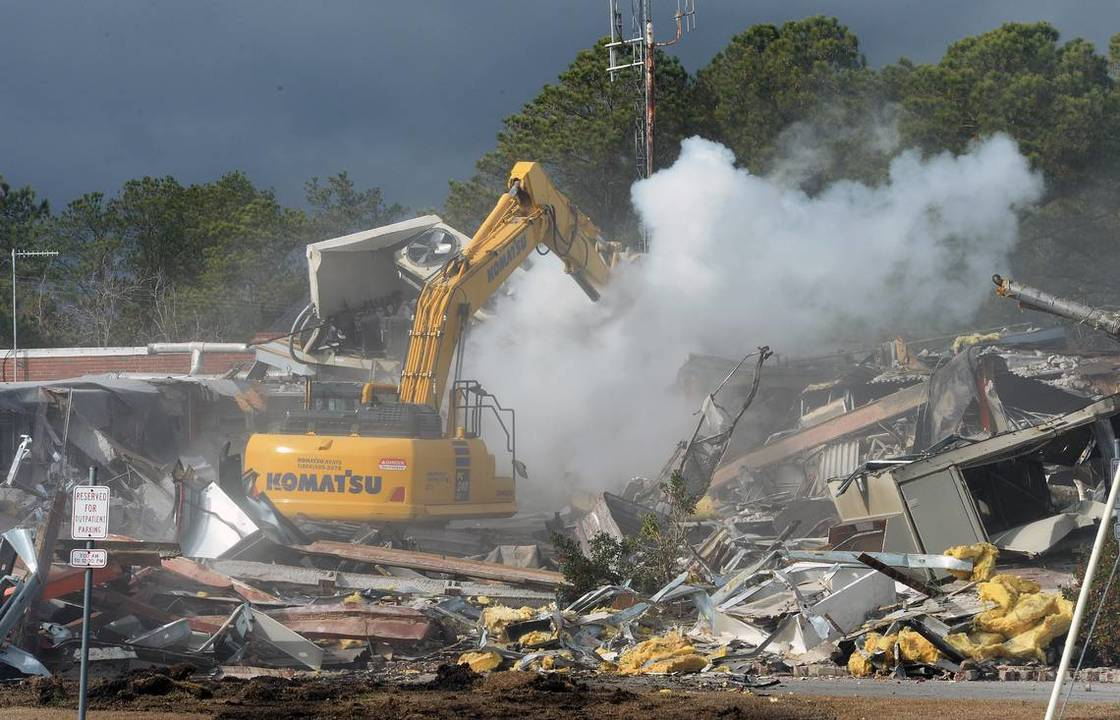 Demolition in Knoxville, TN
